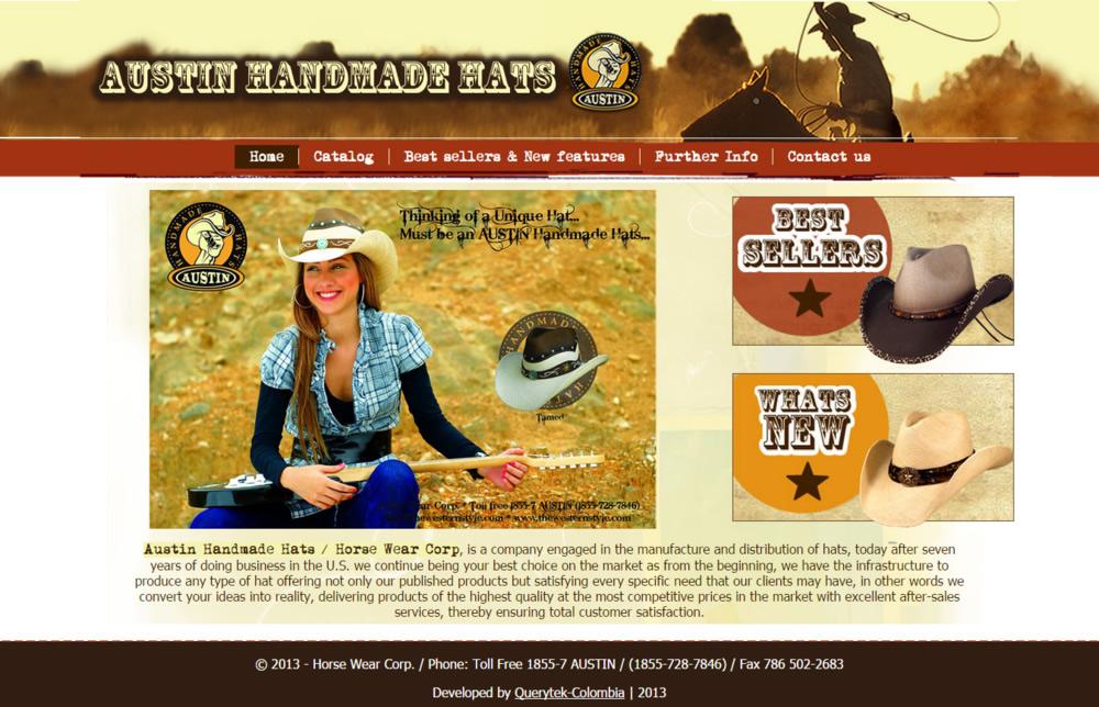 Austin handmade Hats